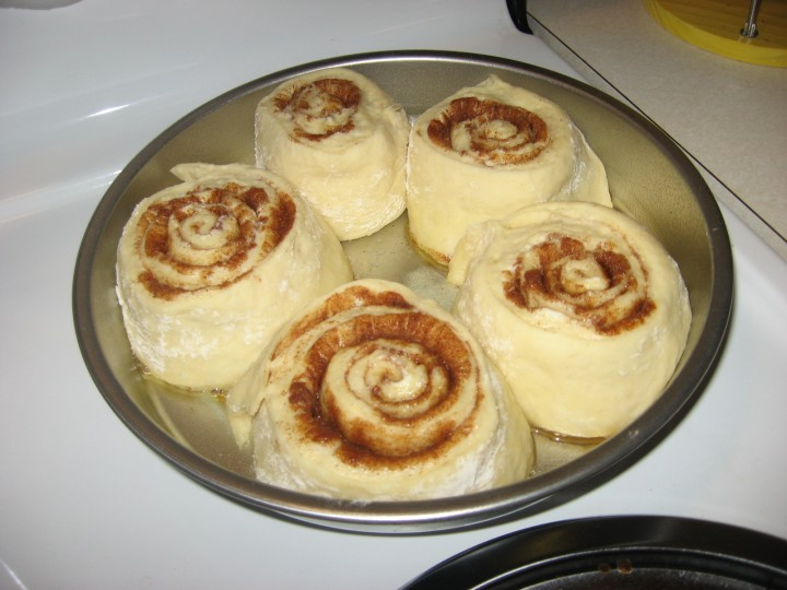 Homemade Cinnamon Rolls for Breakfast!