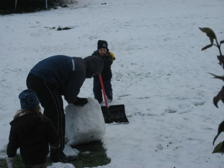 The Making of a Snowman