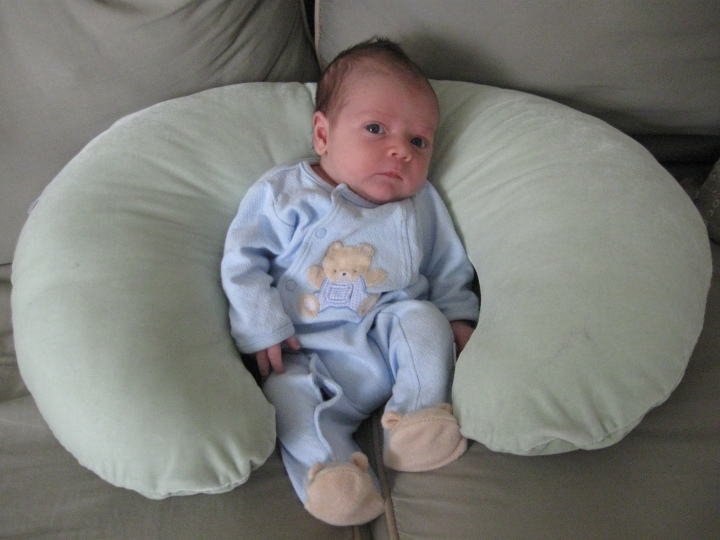 Baby Chase in Bear Footie Jammies