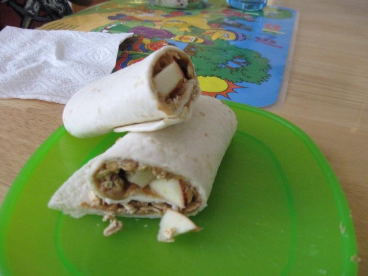 Crunch PB & A Wrap