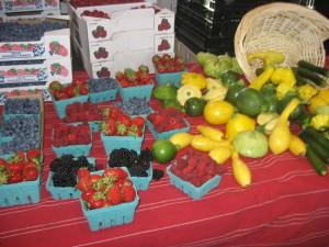 mmmmmmmm fresh berries.....