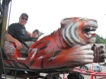 "Cooper told Jeremy that this ride should be called ""Eye of the Tiger""...too much Rockband..."