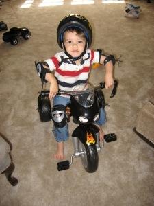 Cooper's First Bike