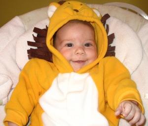 Cooper's First Halloween